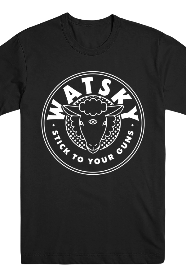 Sheep Head Tee (Black)