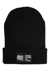 Locale Patch Beanie (Black)