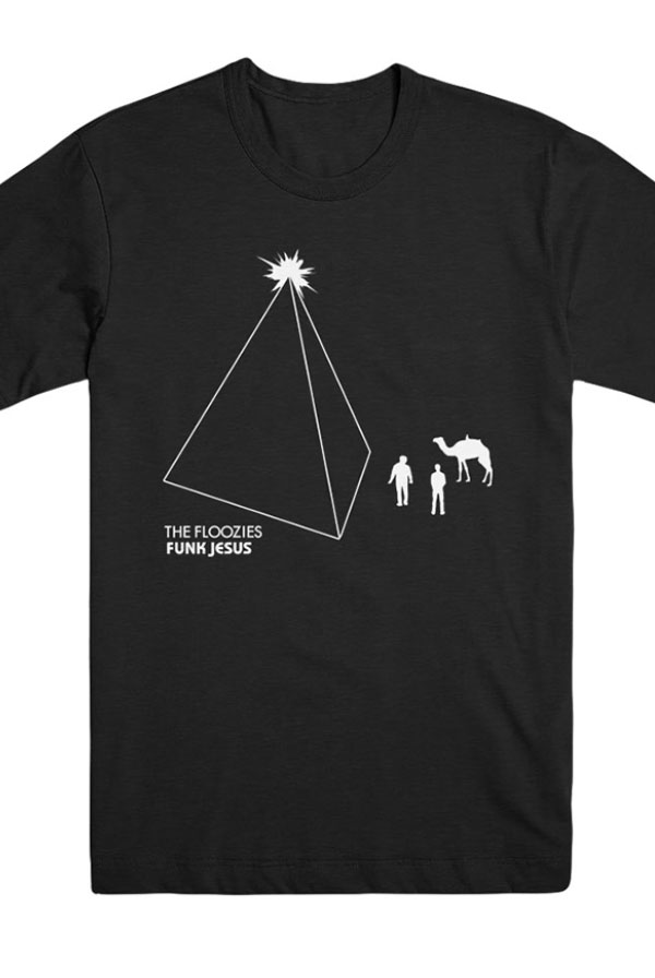 Funk Jesus Tee (Black Heather)