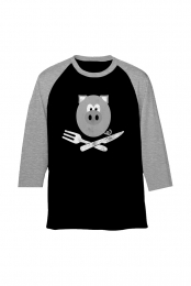 Mr. Pig Raider Raglan