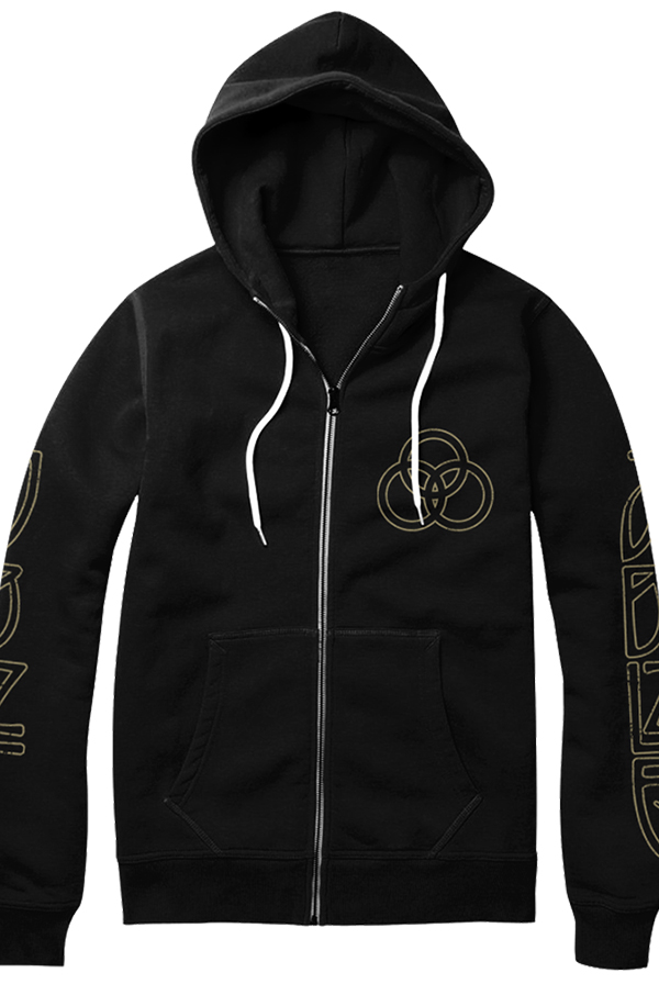 Vintage JBLZE Zip Up Hoodie (Black)