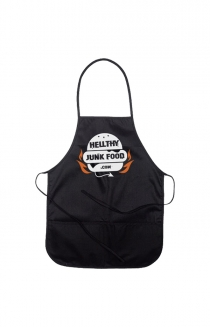 HJF LOGO KIDS' APRON (BLACK)