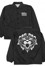 Lion Windbreaker (Black)