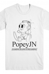 Black & White Tee - PopeyJN