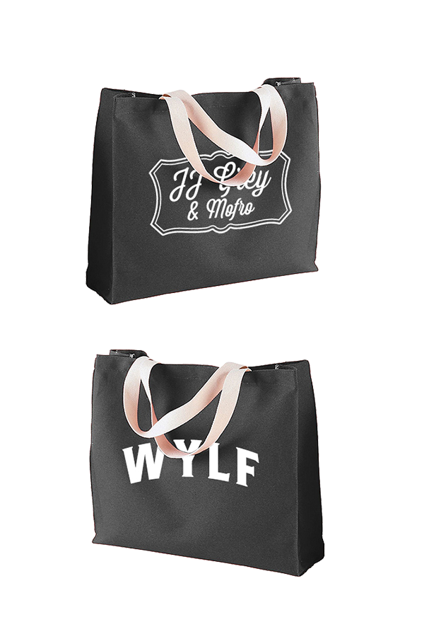 Frame Tote Bag (Black)
