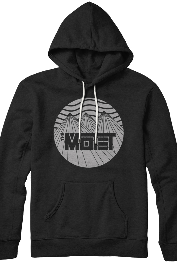 Mountain Pullover Hoodie (Black)