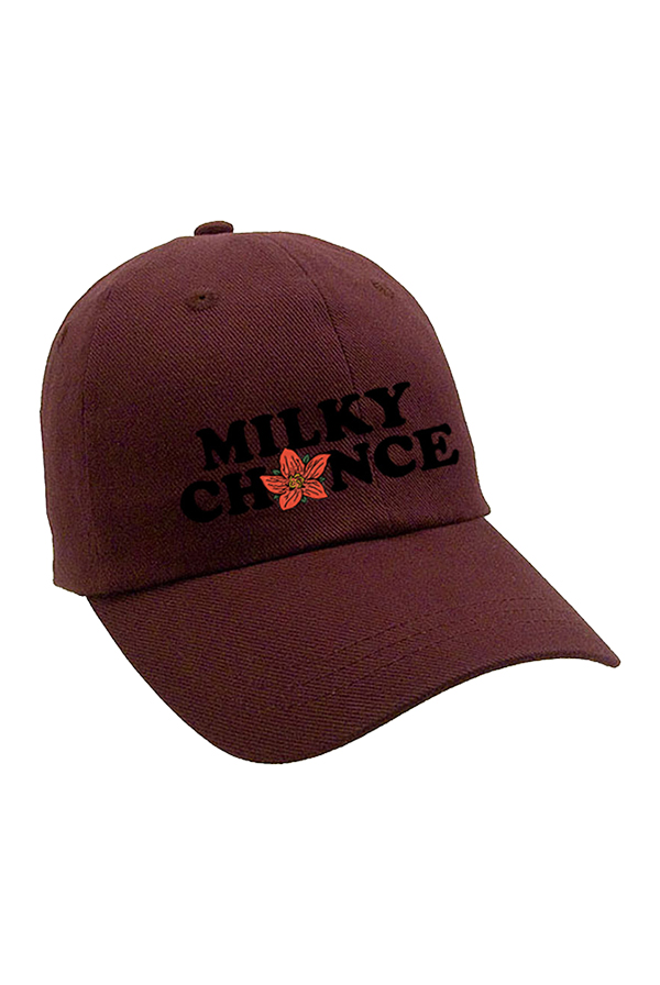 Milky Chance Flower Dad Hat (Cardinal)