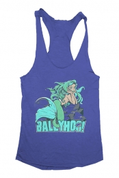 Mermaid Racerback (Vintage Royal)