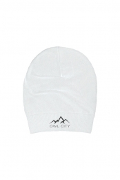 Mountain Slouch Beanie (White)