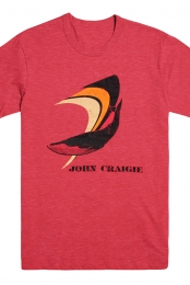 Whale Unisex Tee (Red)