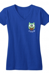 ATL Women's V-Neck (Blue)