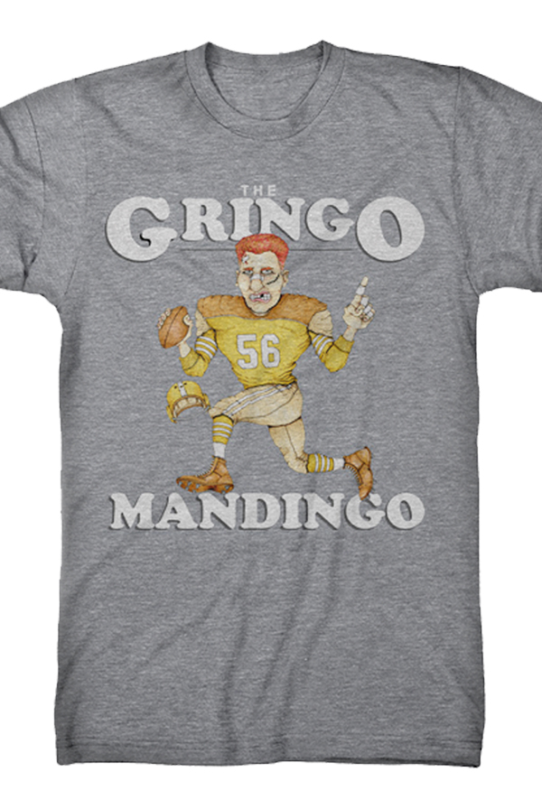 Gringo Mandingo Tee (Heather Grey)