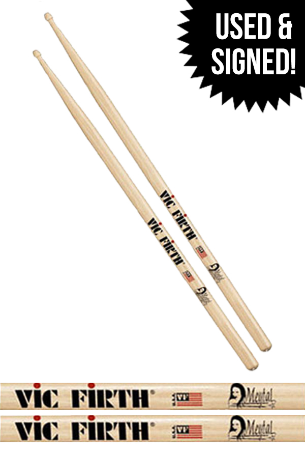 Meytal Drumsticks (Used & Signed)