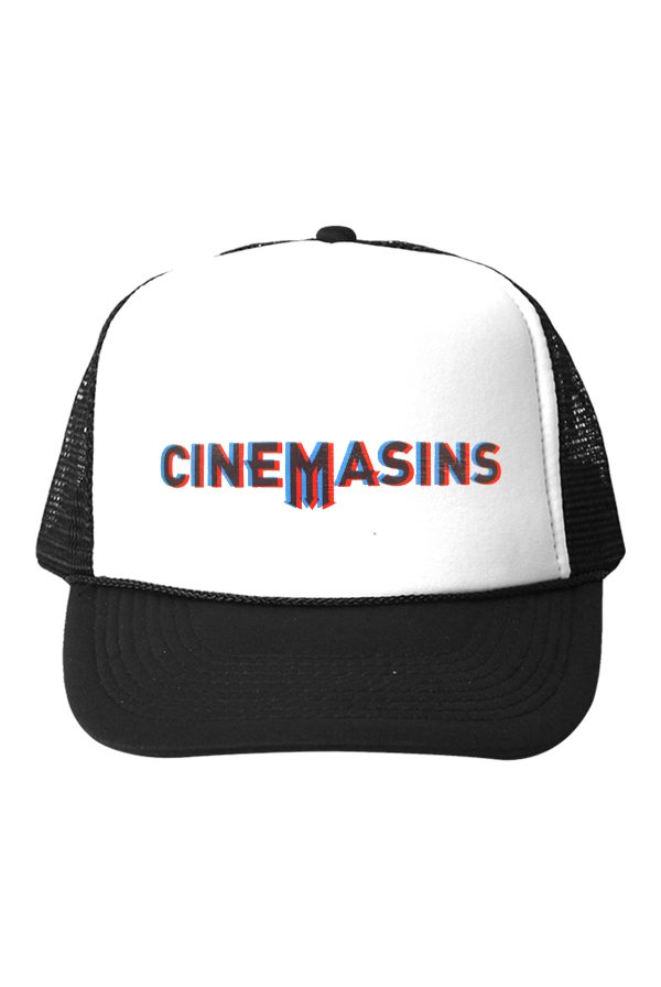 3D Trucker Hat (White/Black)