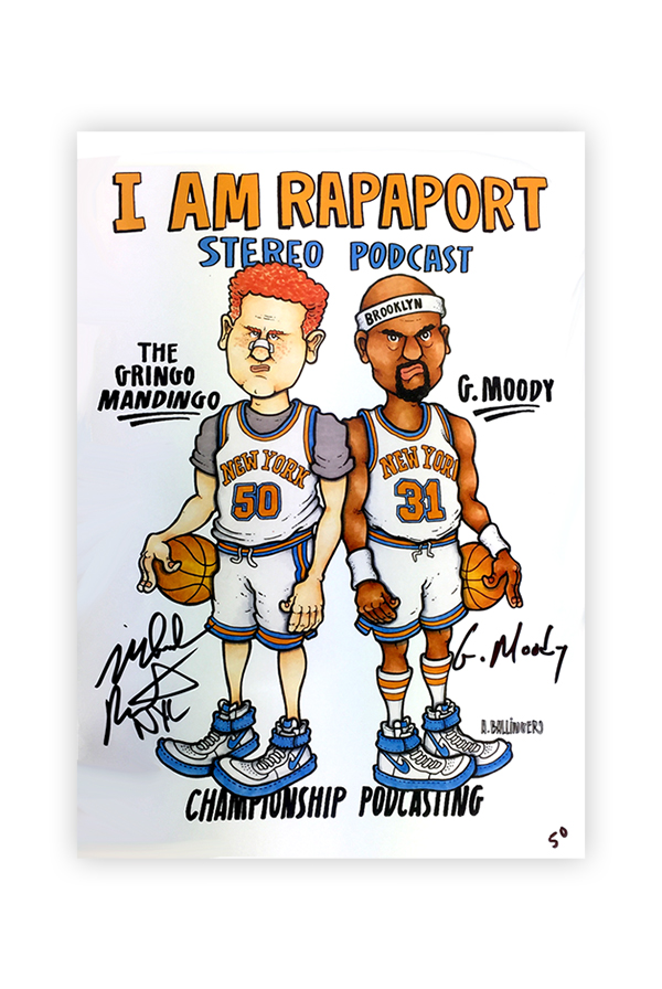 Championship Poster SIGNED & HAND NUMBERED