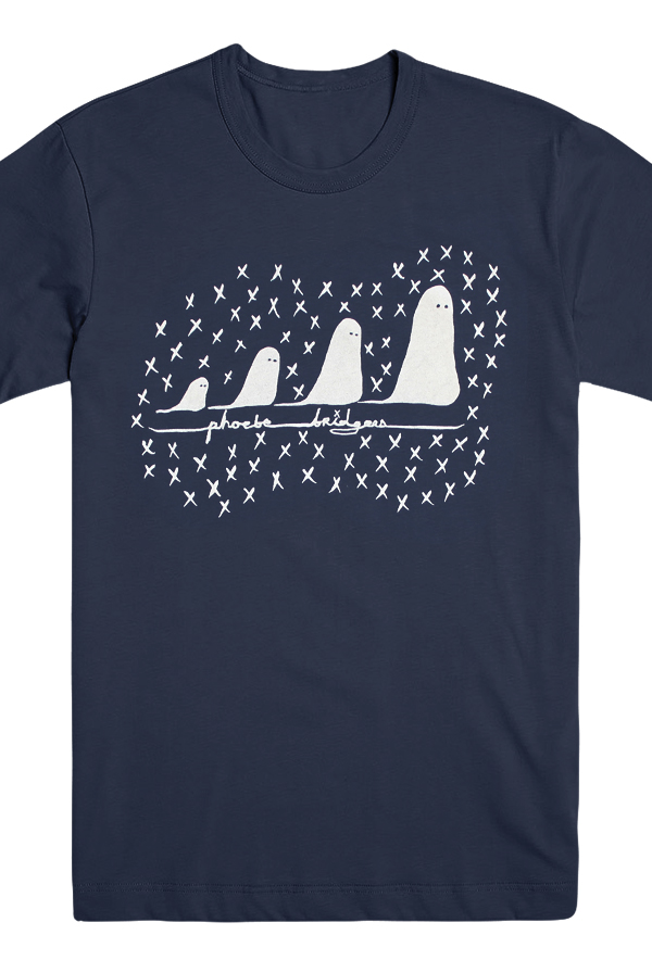 Ghosts T-Shirt (Navy)