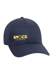 Curved Bill Logo Hat (Navy)