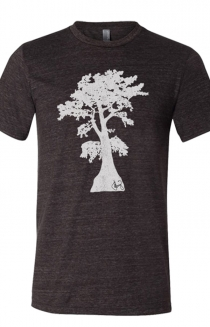 Cypress Tee (Charcoal Black TriBlend)