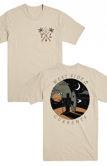 Currents Tee (Tan)