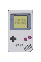 Mischa Crossing Sticker