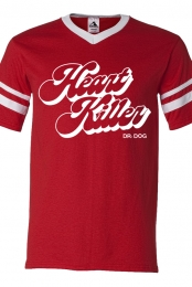 Heart Killer V-Neck (Red)