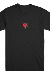 Demo Flower Tee (Black) - Rotana
