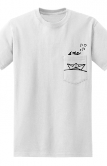 Boat Pocket Tee (White)
