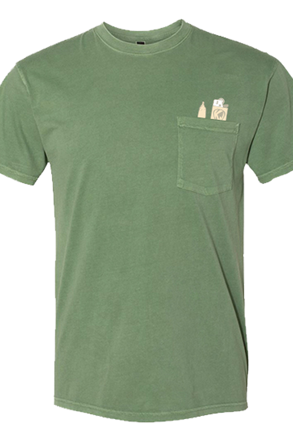 Doobie In My Pocket Tee (Green)