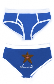 Starfish Men's Underwear (blue)