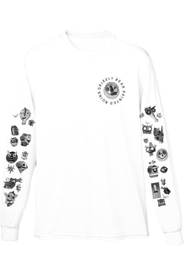 Simon Long Sleeve (White)