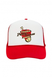 Petty Grass Trucker Hat (Red)