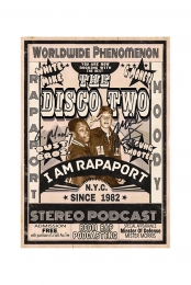The Disco Two 11x17 Poster: Signed & Hand Numbered
