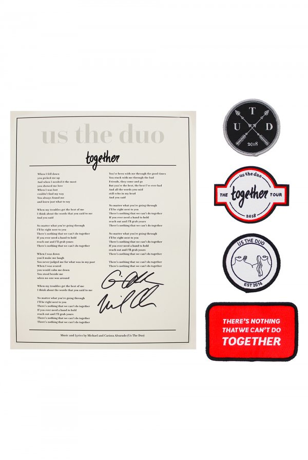 Lyric Sheet + Patch Set