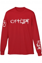CYPHER LONGSLEVE (RED)