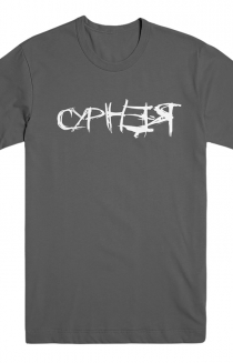 CYPHER TEE (CHARCOAL)
