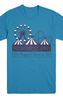 Munchkinland Tee (Royal Blue)