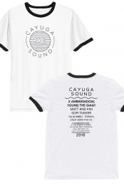 Cayuga Sound Tee 2018 (White)