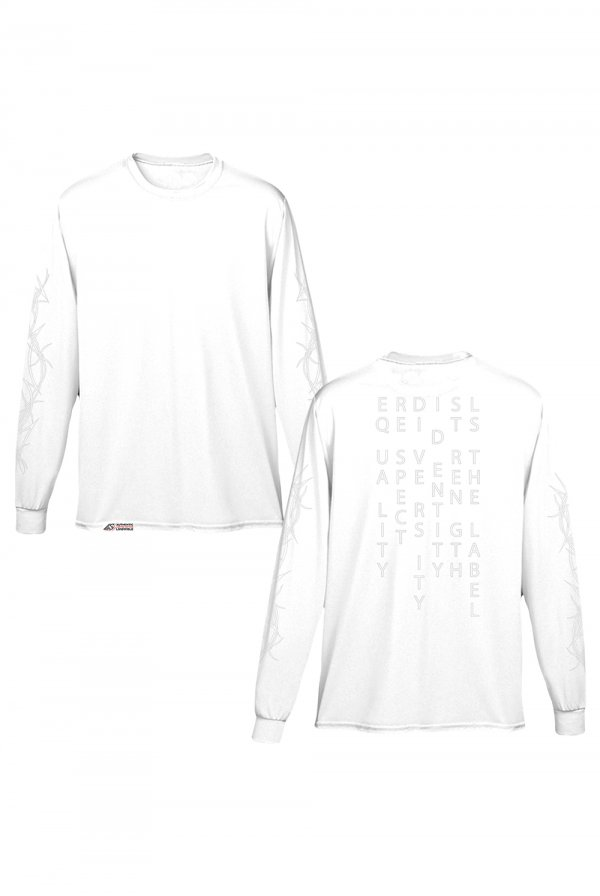 LS Equality Long Sleeve (White)