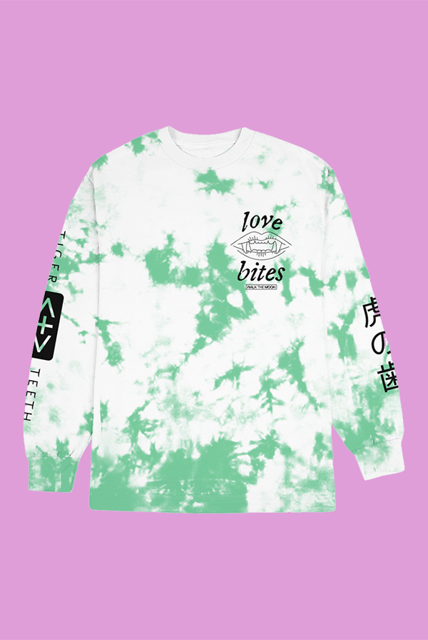Love Bites Tie-dye Long Sleeve