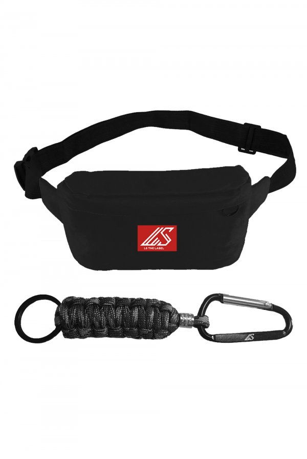 LS the Label Fanny Pack + Logo Keychain