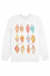 Dolls Crewneck - White