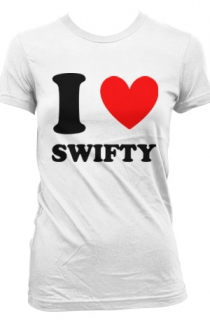 I Heart Swifty Girls (white)