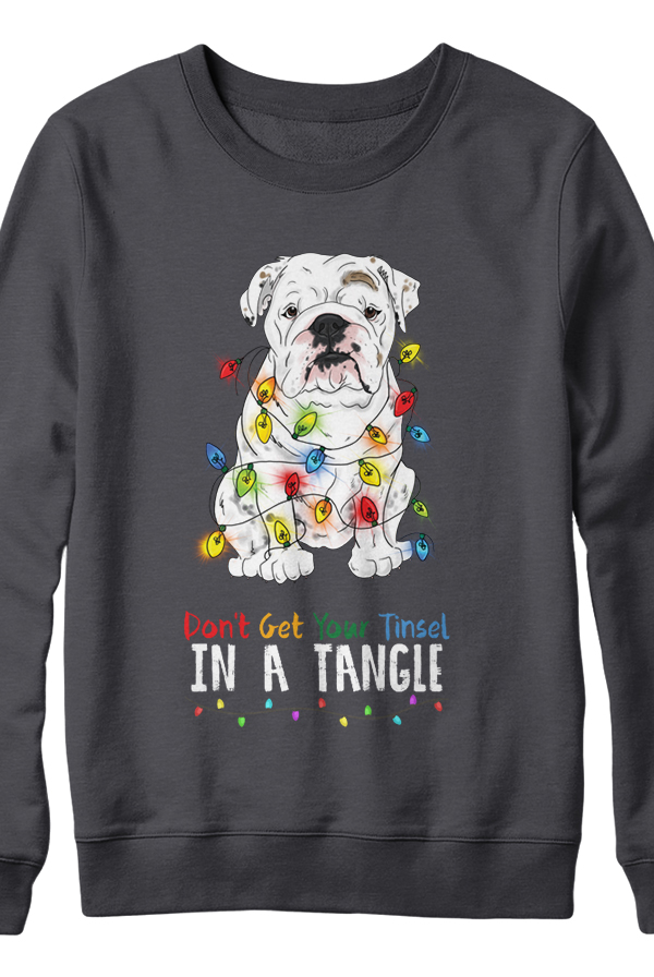 Don't Get Your Tinsel In A Tangle Crewneck