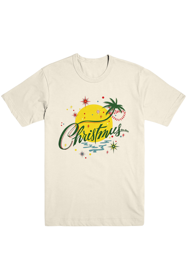 Christmas Us The Duo Tee (white)