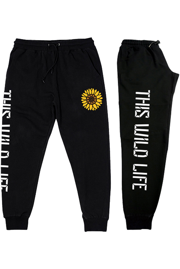 Sunflower Joggers (Black)