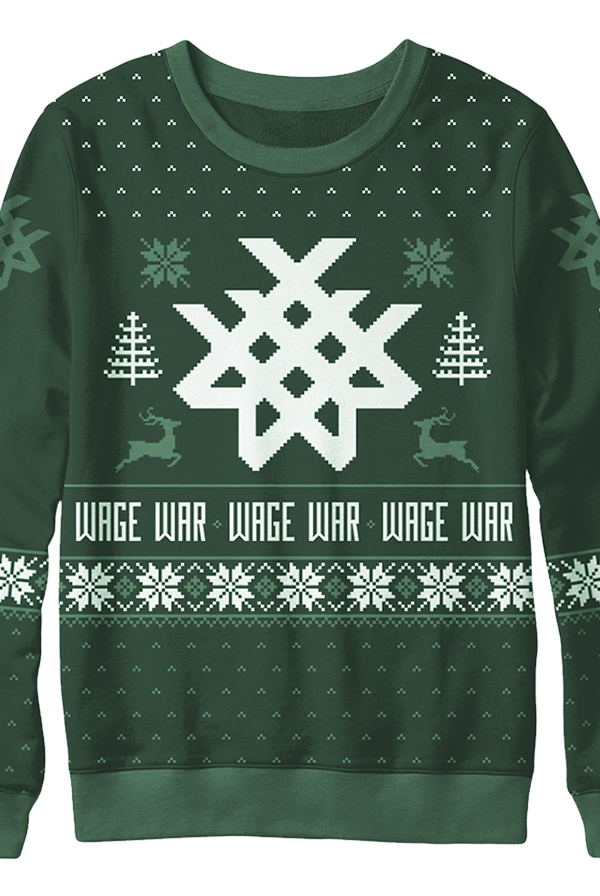 Holiday Sweater (Hunter Green)
