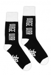 Logo Socks (Black/White)