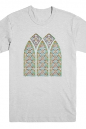 Stained Glass Tee (Ash)