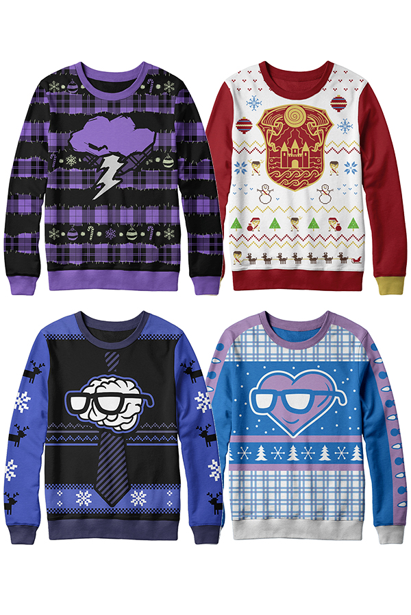 2018 Holiday Sweater Bundle