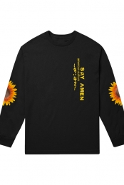 Say Amen L/S Tee (Black)